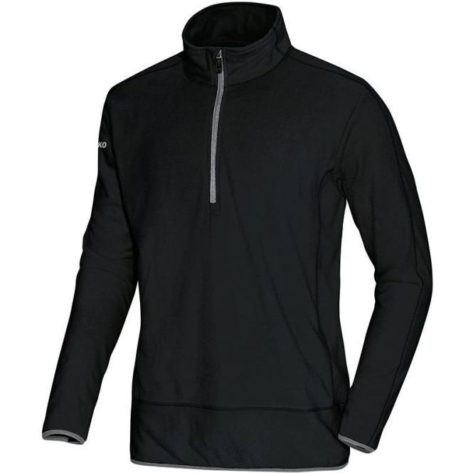 JAKO Fleece Ziptop Team schwarz-grau | XL