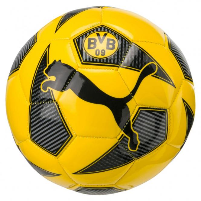 Puma BVB Fan Mini Ball Mini Fußball Cyber Yellow-Puma Black | Mini