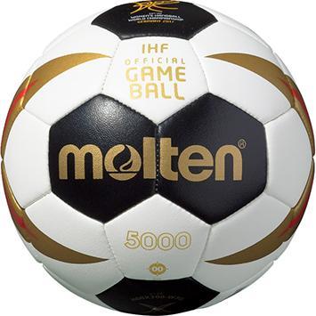 Molten H00X300-W7G Handball Minibällchen schwarz-weiß-rot-gold | 00