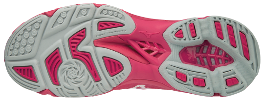230c18013c Mizuno Wave Lightning Z4 Indoor Hallenschuhe Azelea-White-Camellia Rose |  38,5. morepic-1; morepic-2