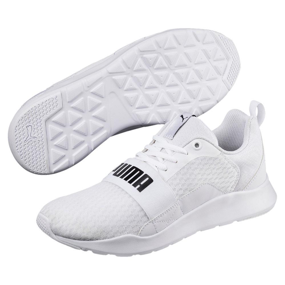 Puma Ignite Schuhe, Größe 38,5 Schwarz, weiße Sohle