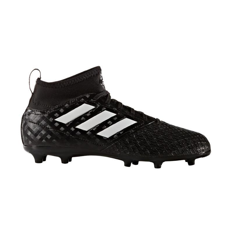Adidas ACE 17.3 FG J Primemesh Fußballschuhe Kinder Blackout black white black | 36