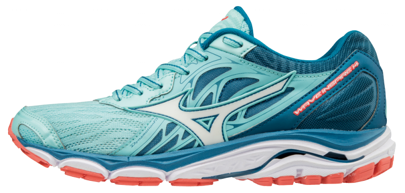 fa69a94ef5 Mizuno Wave Inspire 14 Women Laufschuhe Running Damen AquaSplash-White-Blue  Sapphire | 38