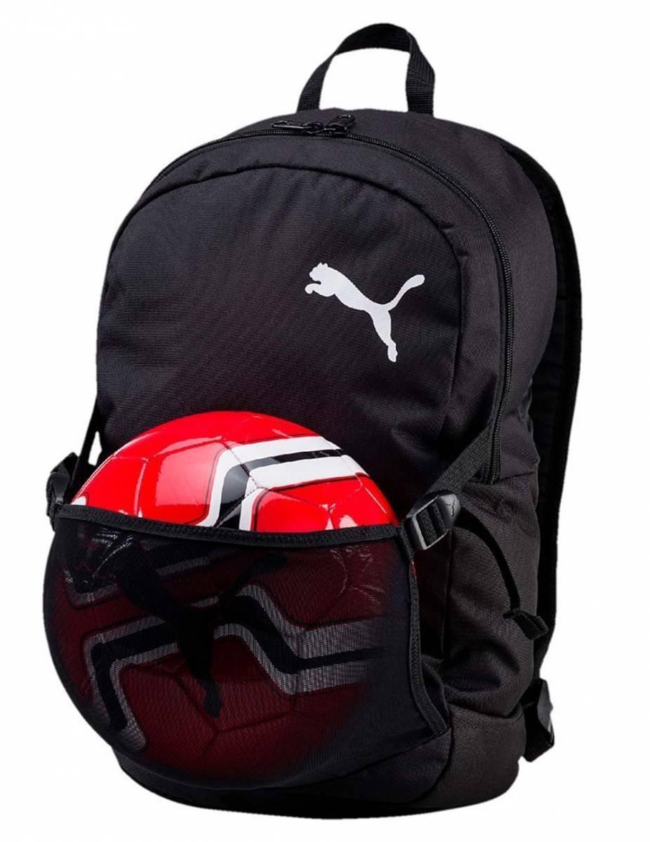 55fa47a73f8c0 Puma Pro Training II Backpack BN Rucksack mit Ballnetz Puma Black