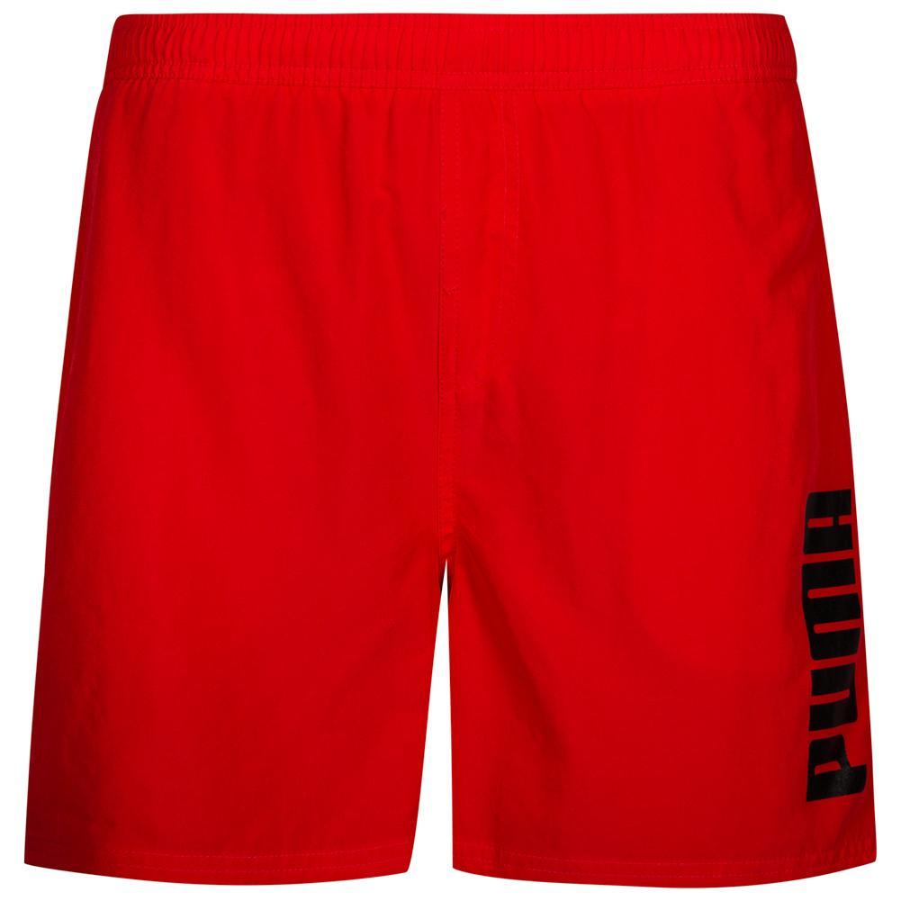 official the best attitude factory price Puma Style Puma Shorts Badeshort Badehose Puma Red | S