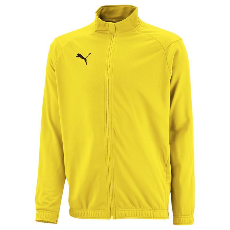 aa289a798d78e7 PUMA LIGA Sideline Poly Jacket Core Jr Kinder Trainingsjacke Cyber Yellow-Puma  Black | 116