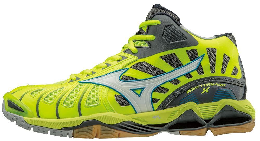Mizuno Damen Blau Rosa Wave Lightning Z3 Hallenschuhe Turnschuhe Sport Schuhe