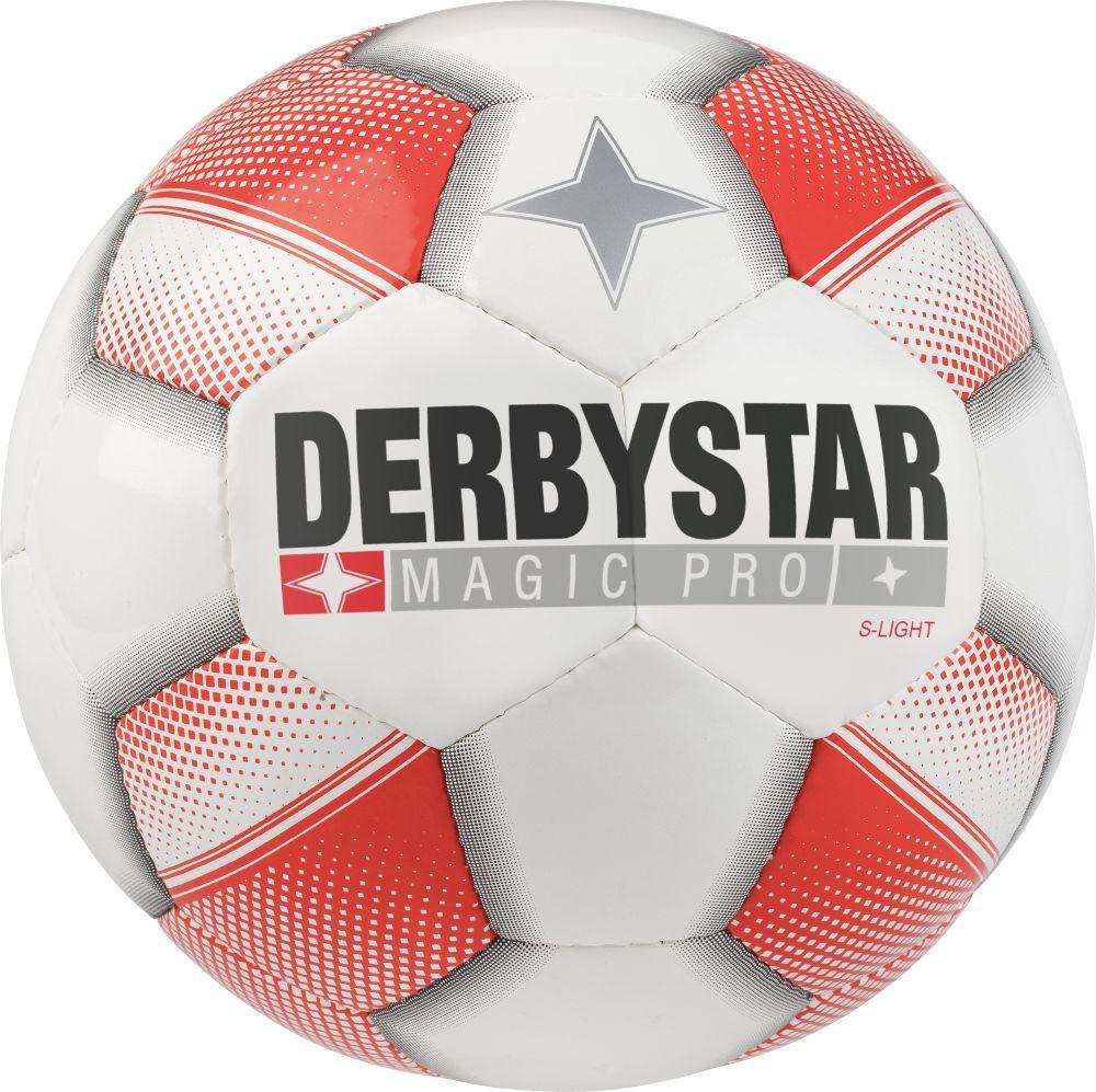 290g Derbystar Magic S-Light Fußball Jugendball E-Jugend F-Jugend Bambini rot