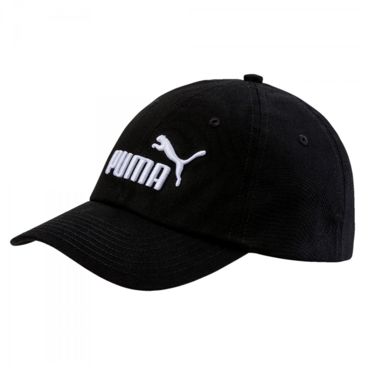 Puma ESS CAP JR Essentials Kinder Gewebtes Cap PUMA BLACK NO.1 | Youth