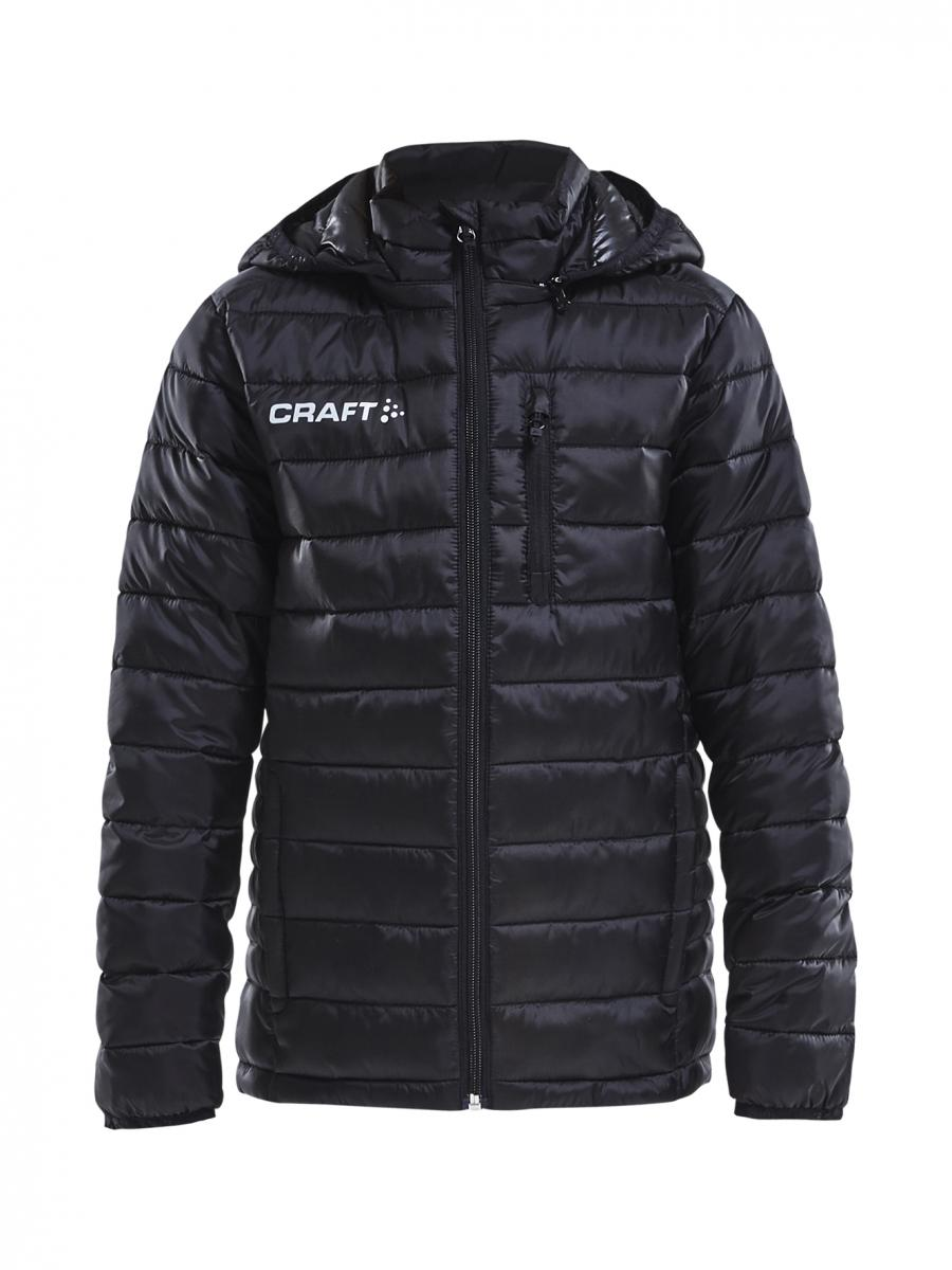 newest f93d3 a0baa CRAFT ISOLATE JACKET JR WINTERJACKE DAUNENJACKE KINDER black | 122/128