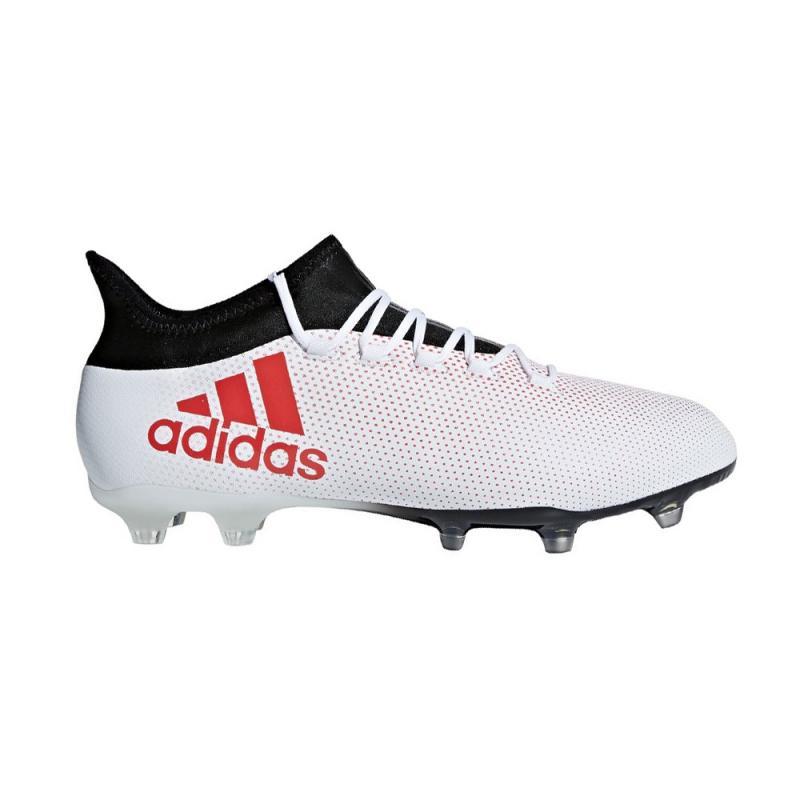 adidas X 17.2 FG Fußballschuhe Ftwr White Real Coral Core Black | 42 23
